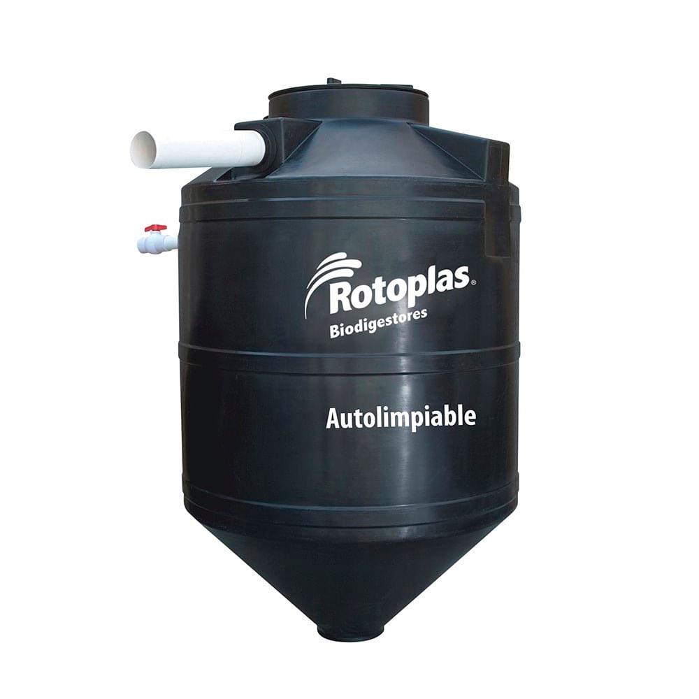 Tanque de agua biodigestor 1300 litros promart for Tanque de agua rotoplas
