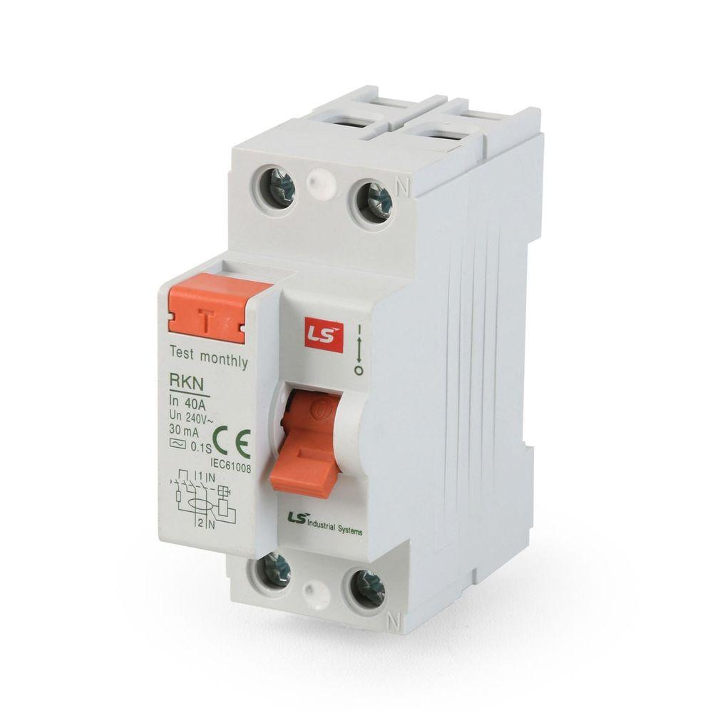 Interruptor diferencial 2x40a 30ma 230v promart - Interruptor diferencial precio ...
