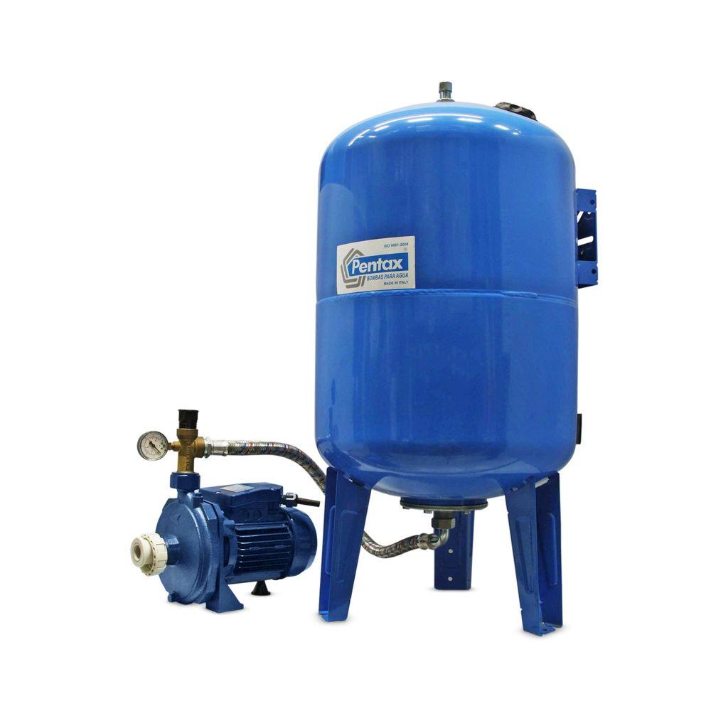 Equipo hidroneum tico 1 hp 100 l cm100 promart for Equipo hidroneumatico