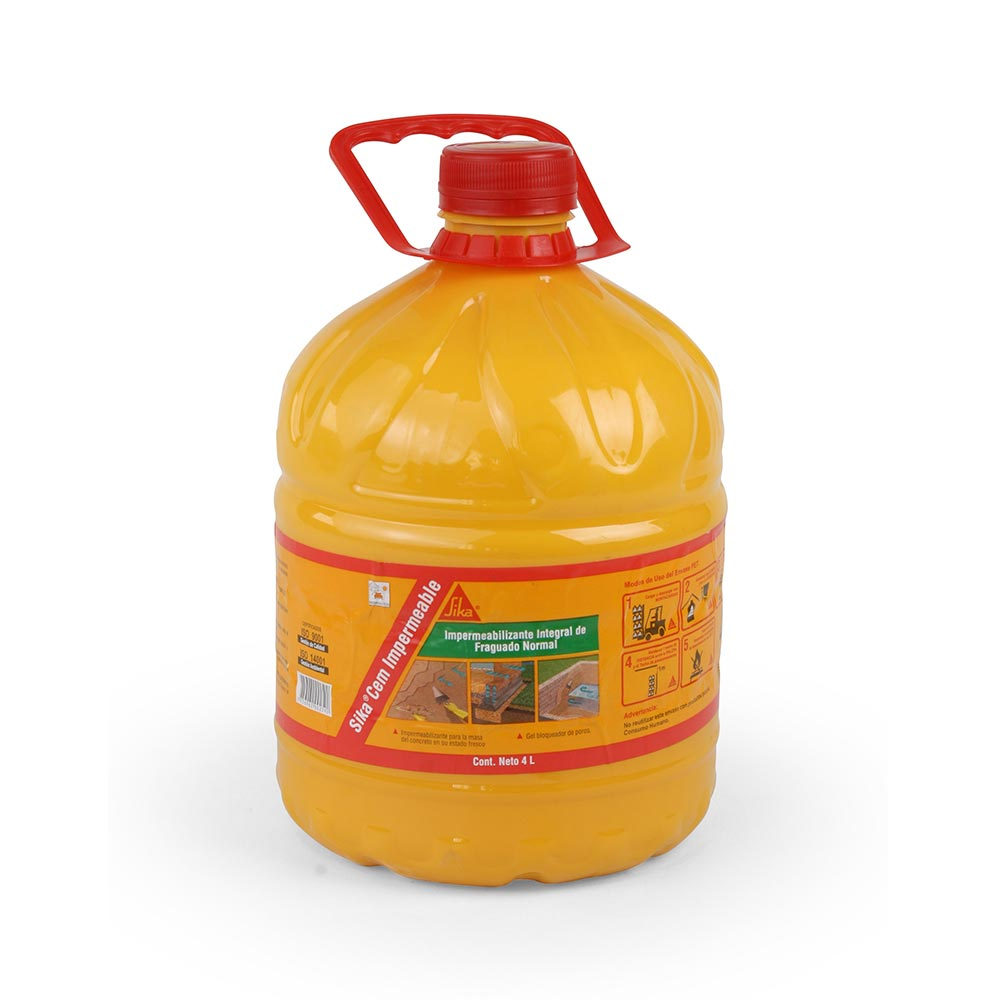Impermeabilizante sika cem 4 litros promart for Pintura impermeabilizante sika