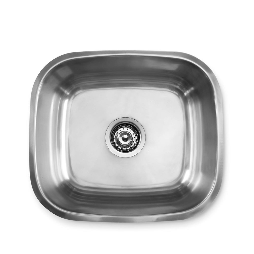 Lavadero 1 poza recortado sin escurridor 35 x 40 cm promart for Planos de cocina lavadero
