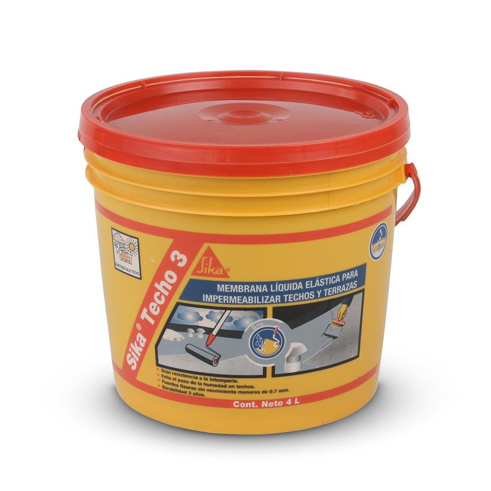 Impermeabilizante silka techo 3 4 litros promart for Pintura impermeabilizante sika