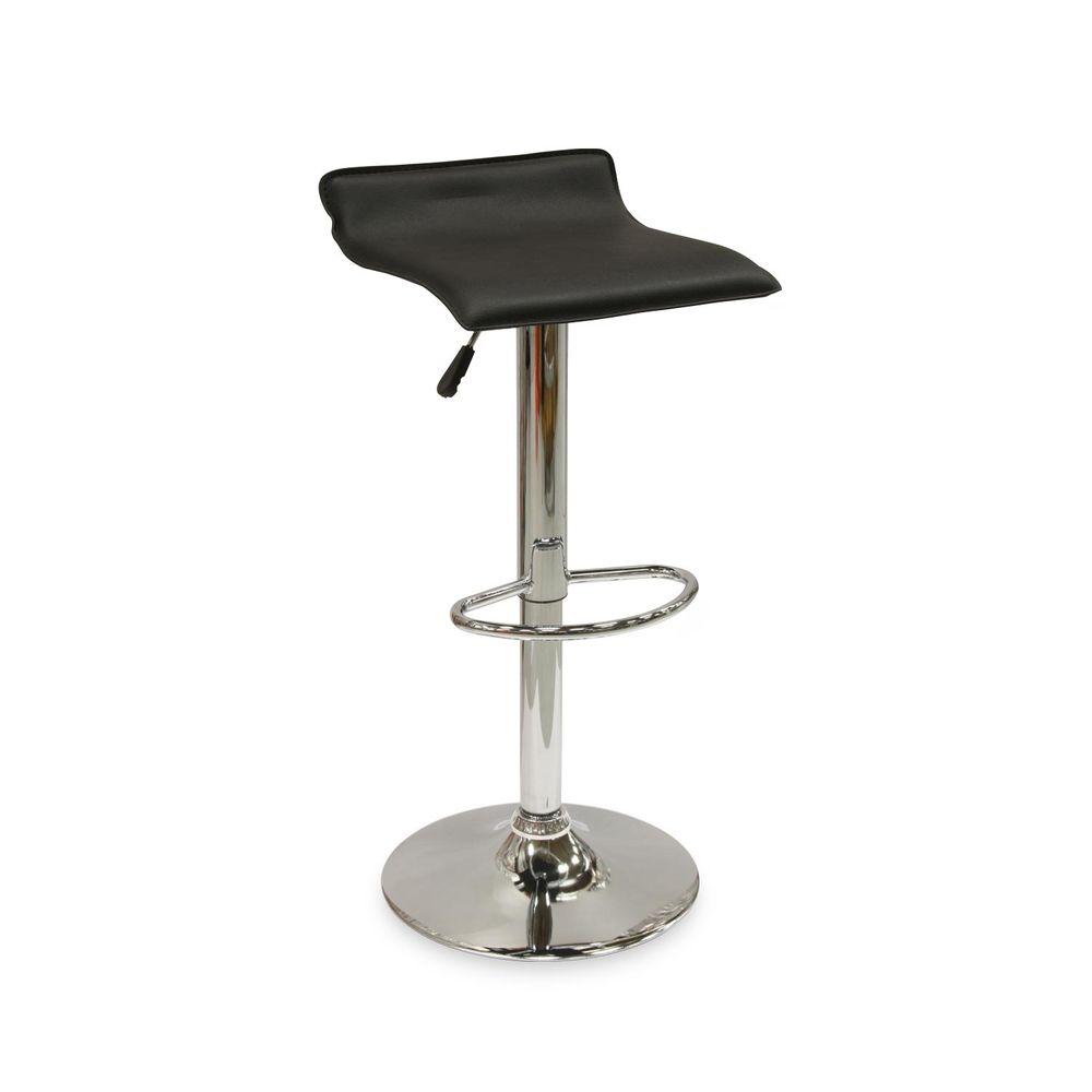 silla de bar sinfon a negra promart