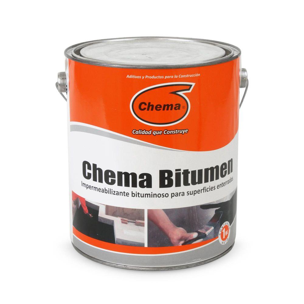 Pintura asf ltica sika bitumen 4 litros promart for Pintura impermeabilizante sika