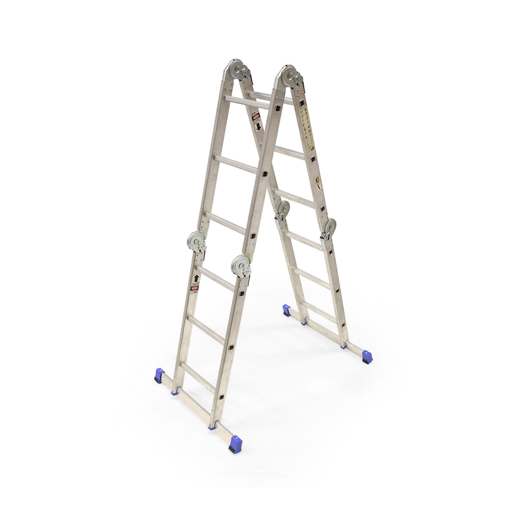 escalera multiposici n 12 pasos promart
