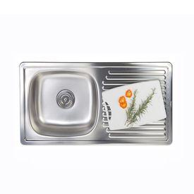 Cocinas y banos lavaderos de cocina record promart for Record lavaderos