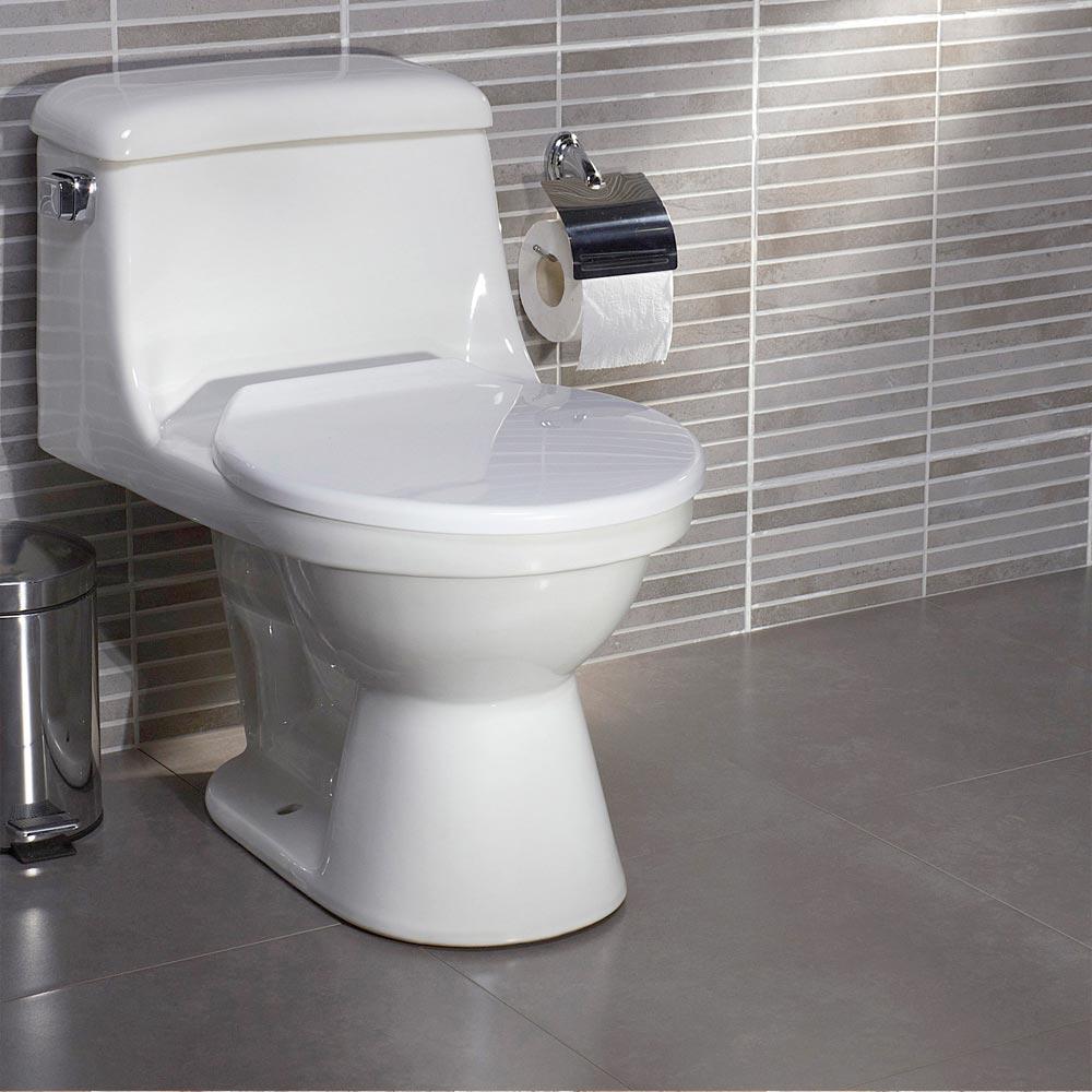 Piso cer mico cementicio concreto gris 45x45 cm caja promart - Foto de toilette ...