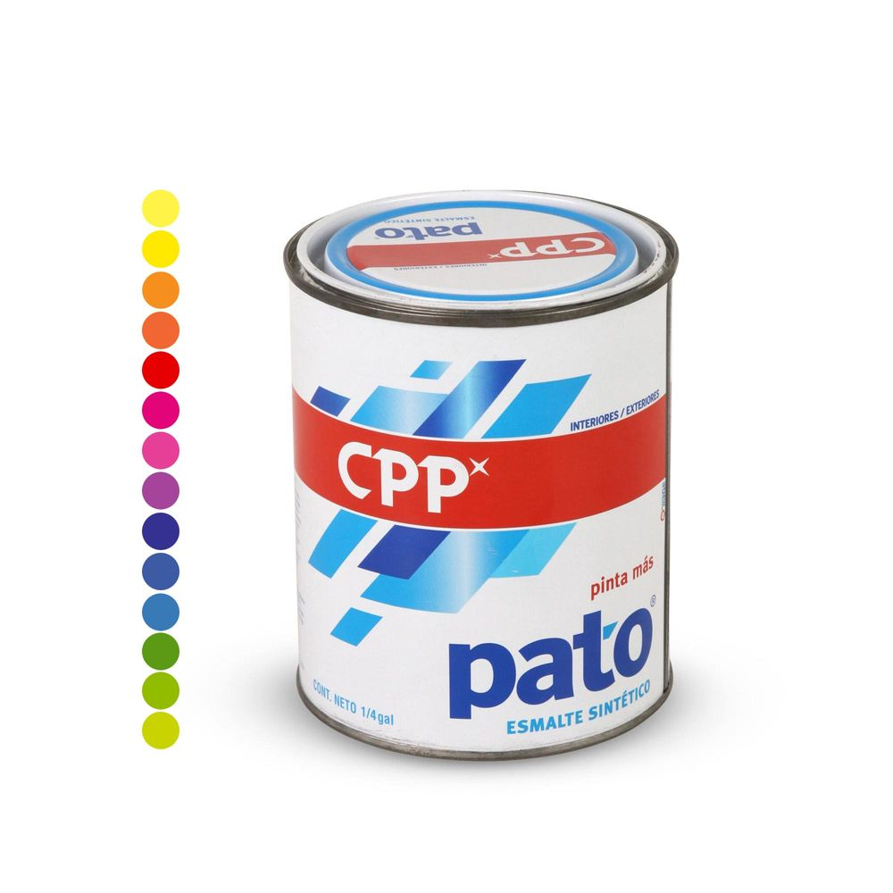 Esmalte pato verde cromo 1 4 gal n promart - Pintura para baldosas precio ...