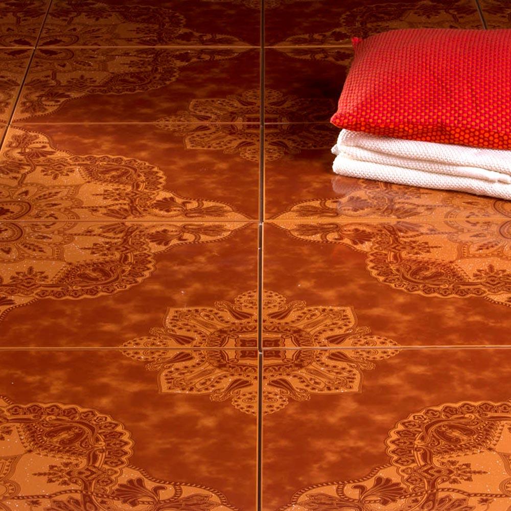 Piso cer mico graficado ipanema cuero 45x45 cm caja 2 for Precio colocacion piso ceramico