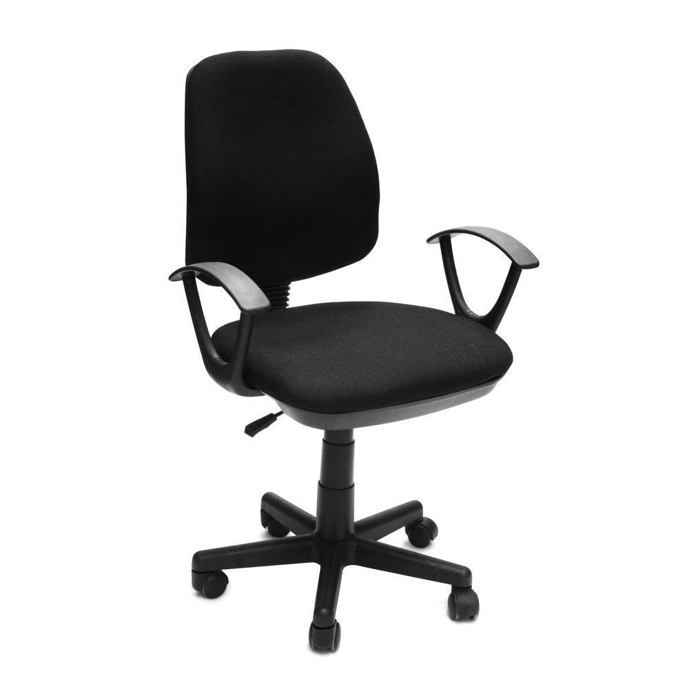 silla giratoria nueva viena negra promart