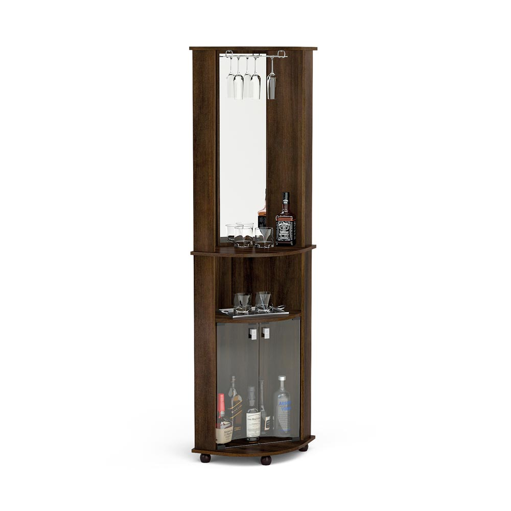 Mueble de bar port til puerto mont promart for Bar portatil madera