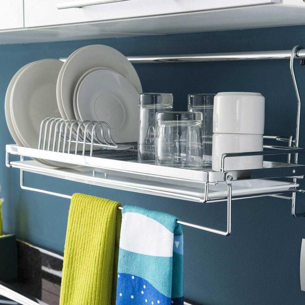Organizador de tazas y platos promart for Plateros de cocina modernos