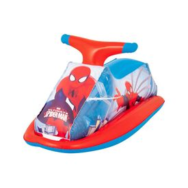 Moto-inflable-Spiderman