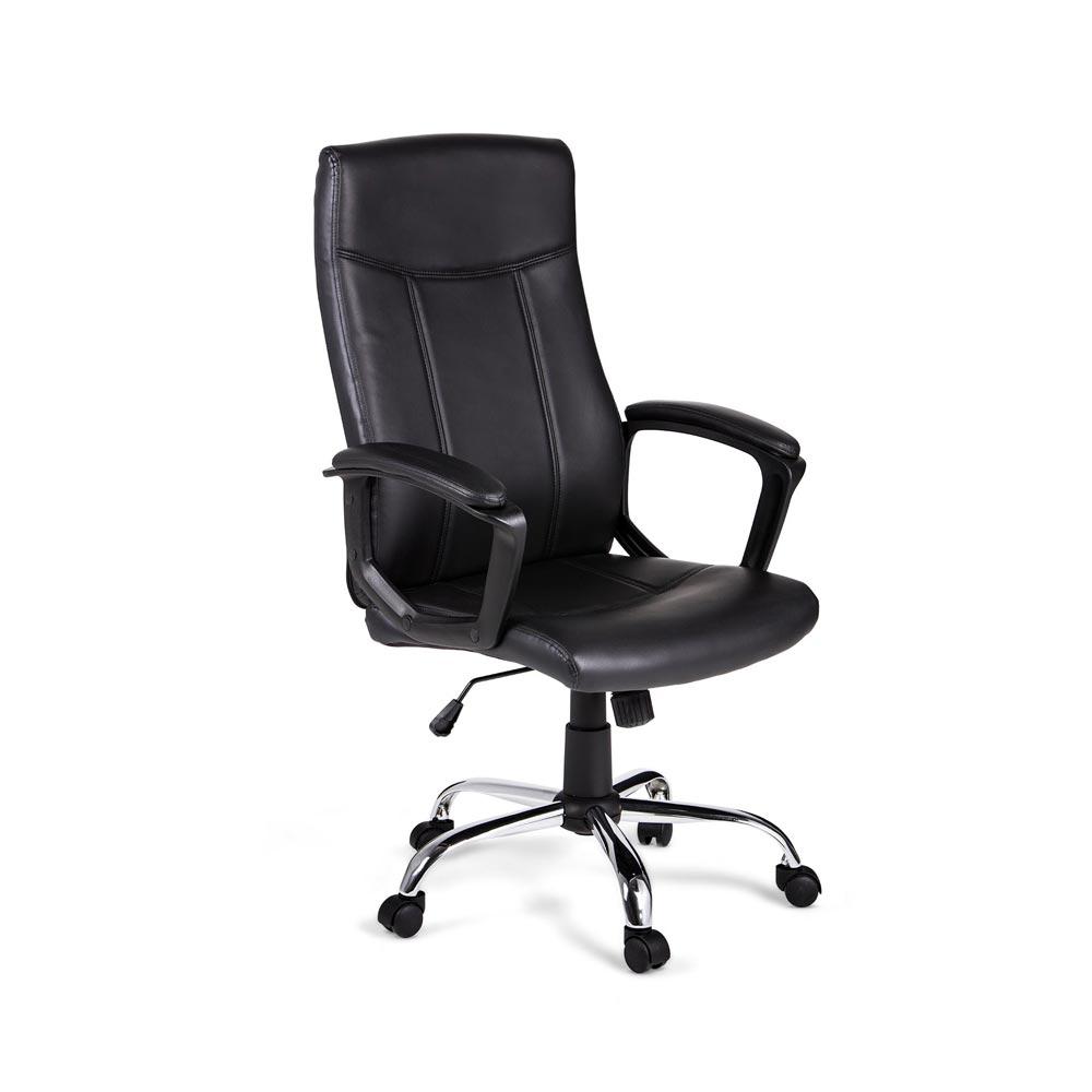 Sill n giratorio hamburgo negro promart for Precio sillas reclinables