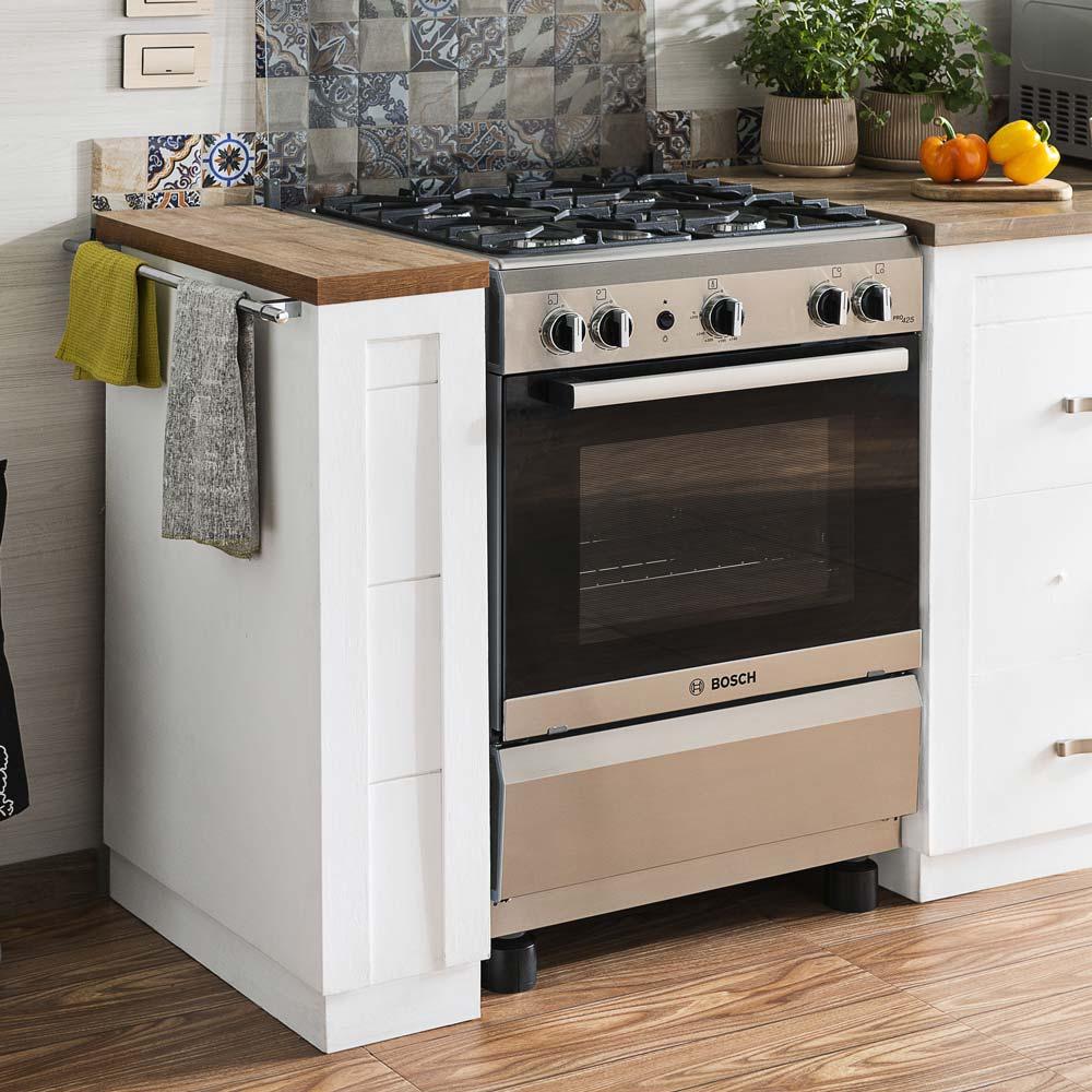 Cocina a gas 24 pro 425 inox promart for Cocina de gas profesional