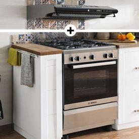 Campanas De Cocina Bosch | Electrohogar Cocinas Y Hornos Cocinas De Pie Bosch Promart