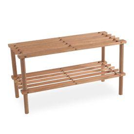 Zapateras modernas y funcionales for Zapateras de madera modernas
