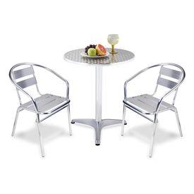 Mesas de plastico baratas manomano mesa maleta mesa for Mesas y sillas de terraza baratas