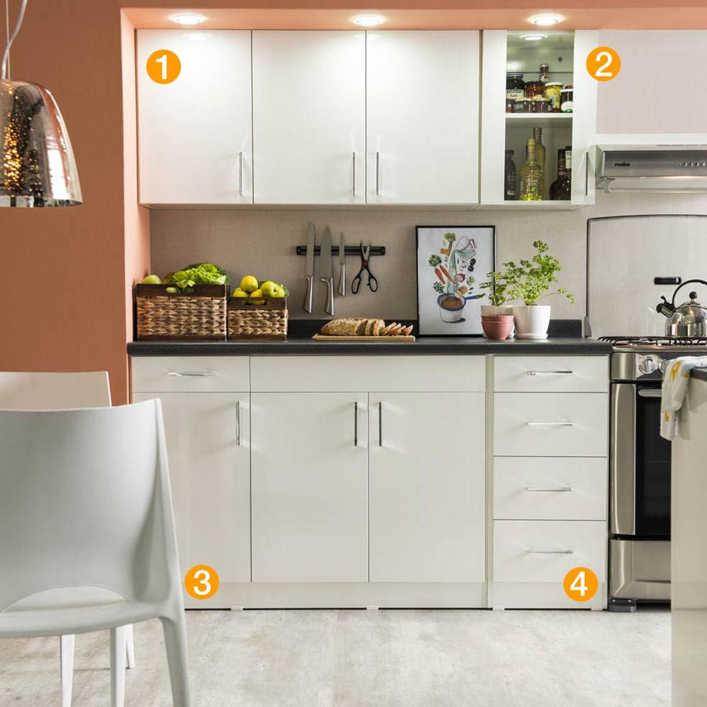 Muebles De Cocina En Melamina Best Pintar Muebles De Cocina  # Muebles Melamina Rosario