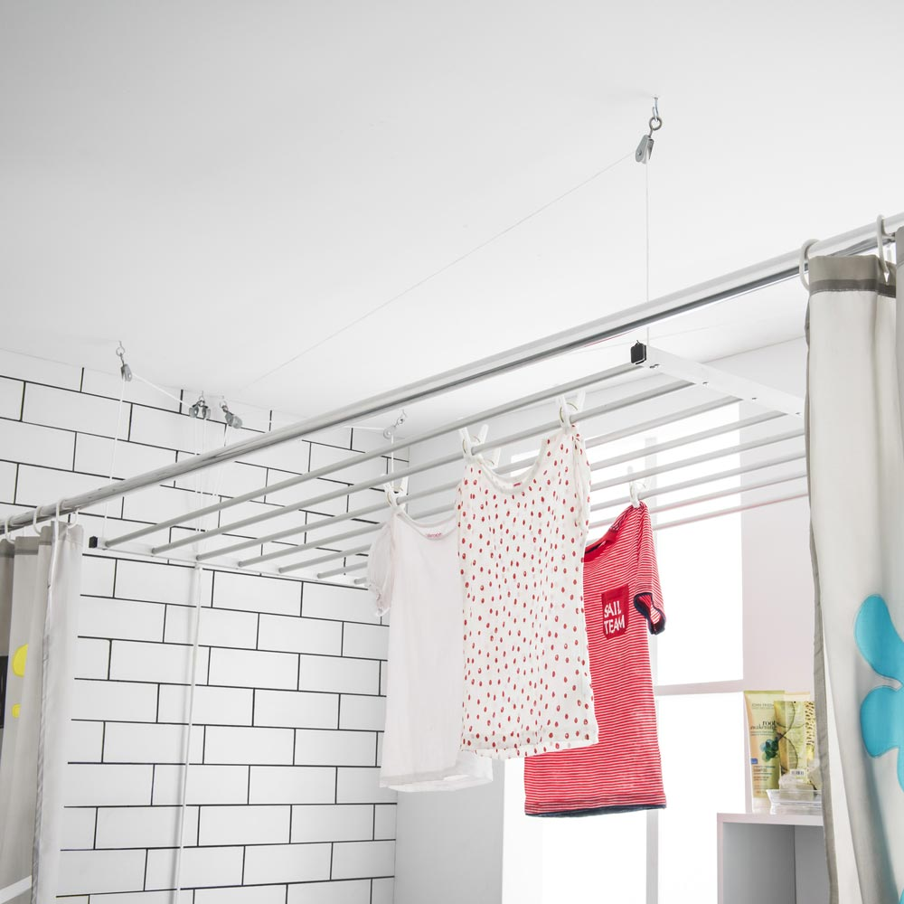 Tendederos de techo precios free pinza ropa tendedero x - Tendederos de interior ...