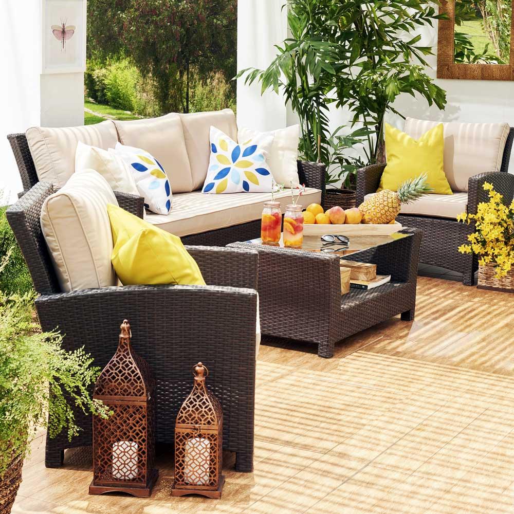 Cojines Para Muebles De Terraza Cojines Para Muebles De Terraza  # Cojines Muebles Terraza