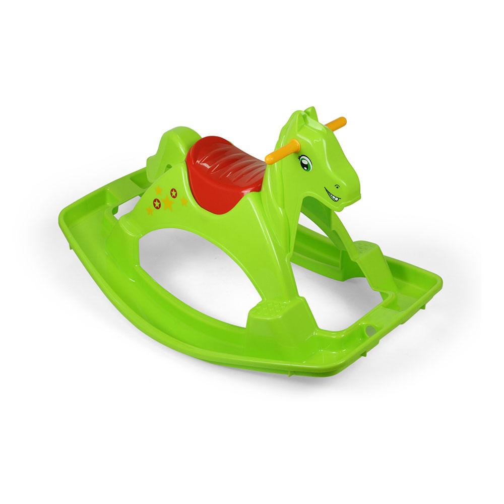 Mecedora De Pl Stico Pony Promart # El Foco Muebles Caballito