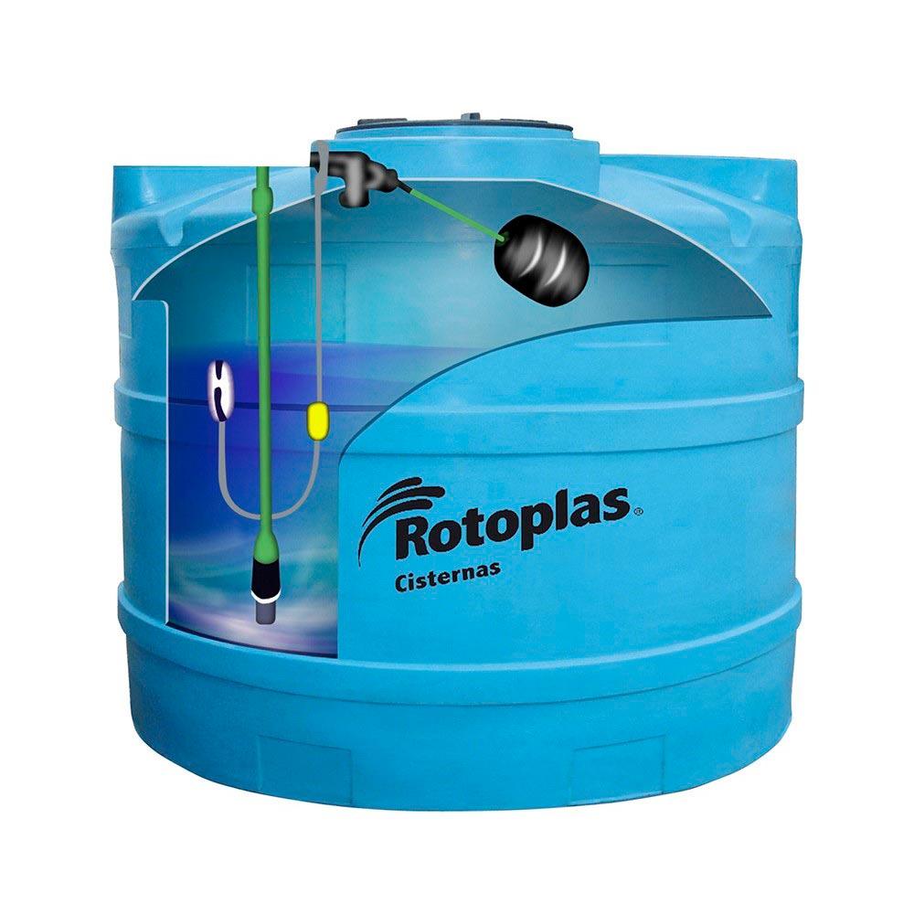 Cisterna con válvula y flotador 2800 litros - Promart