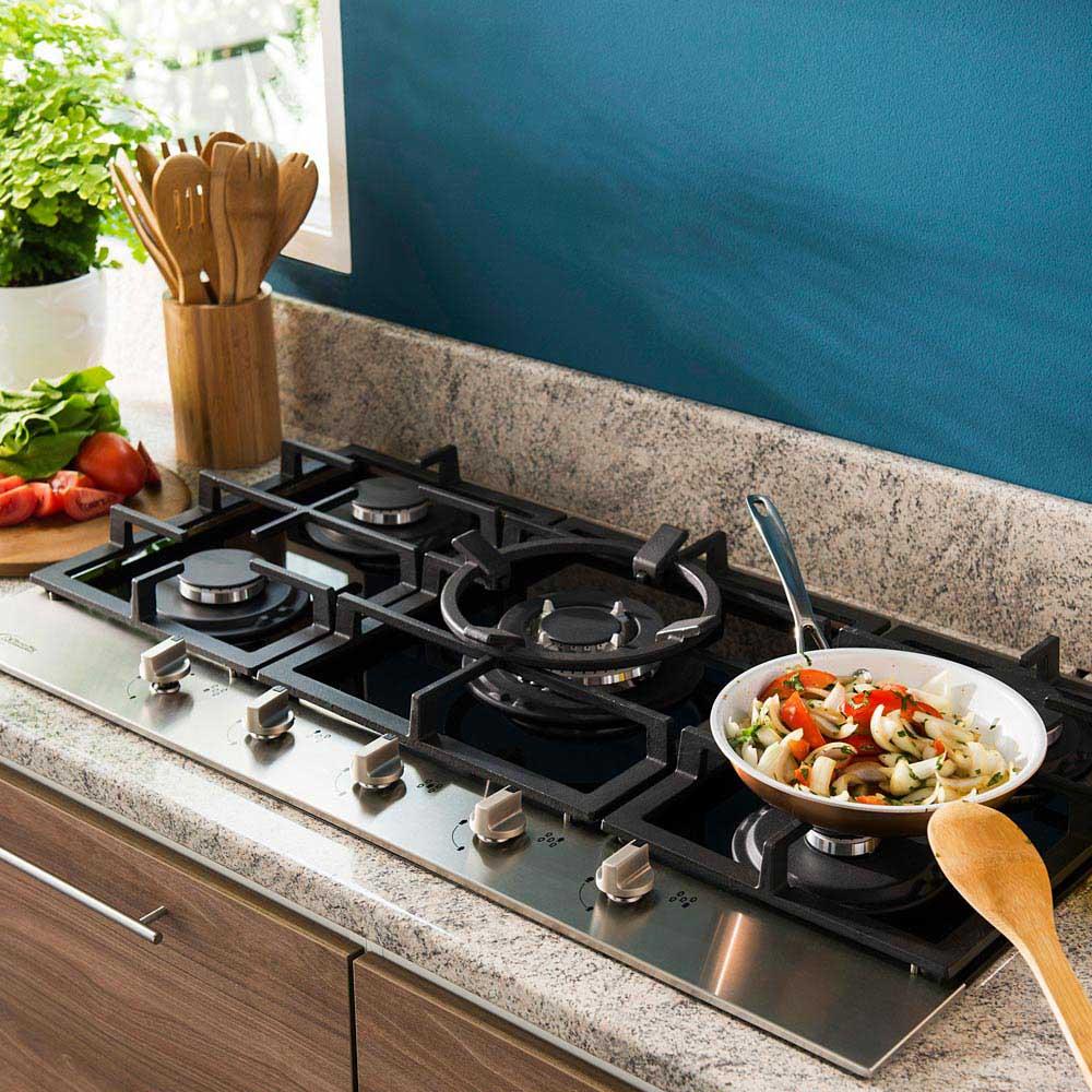 Cocina empotrable a gas Petra 5 hornillas - Promart