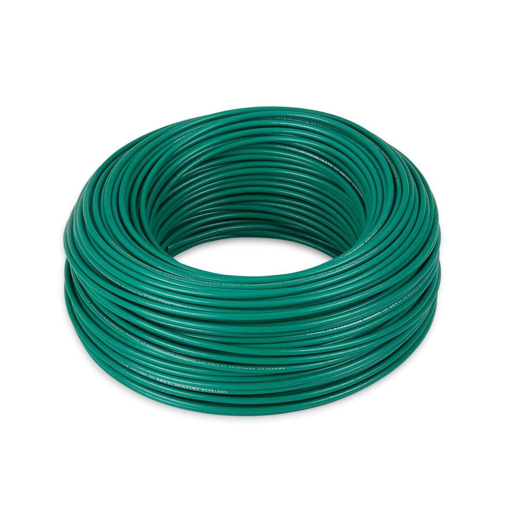 Cable THW 12AWG Verde x rollo - Promart