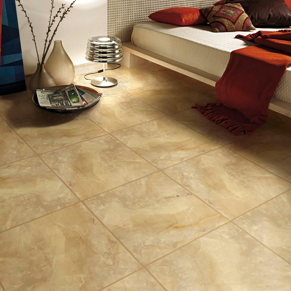 Piso cer mico marmolizado avorio hueso 45x45 cm promart for Precio colocacion piso ceramico