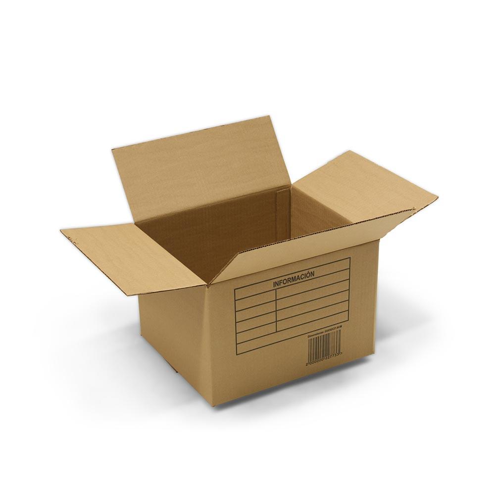 Caja De Cart N 32 X 38 X 28 Cm Promart ~ Cajas De Carton Decorativas Grandes