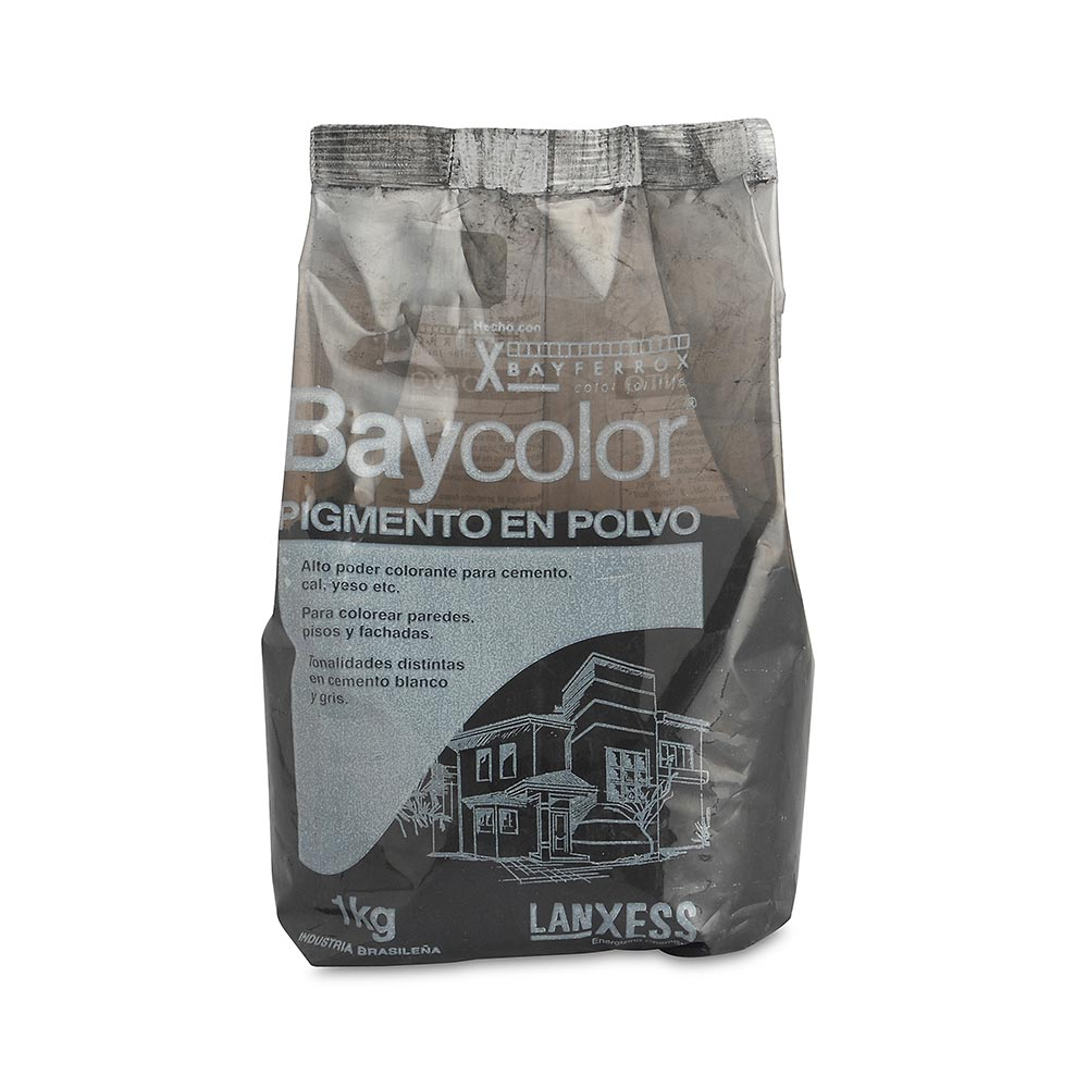 Ocre Baycolor negro 1 kg - Promart