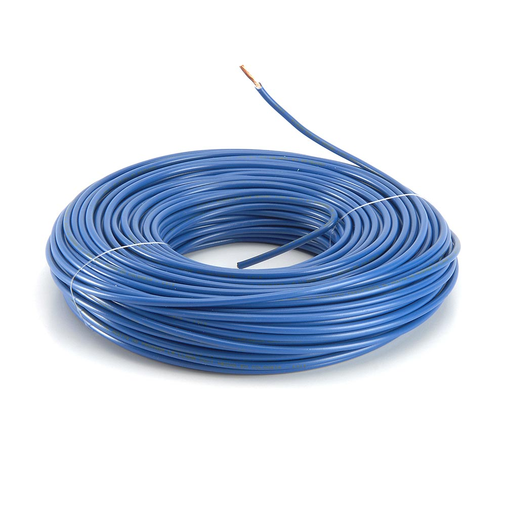 Cable THW-90 14AWG Azul x50 metros - Promart