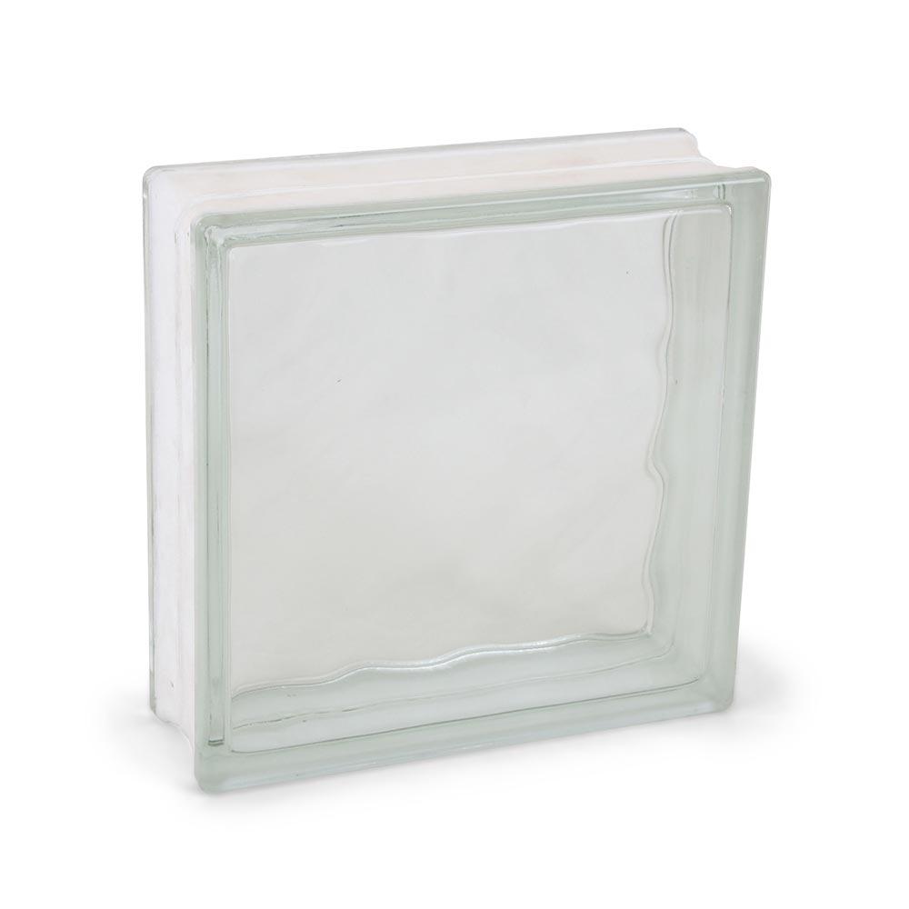 Bloque de vidrio Olas 24 x 24 cm - Promart