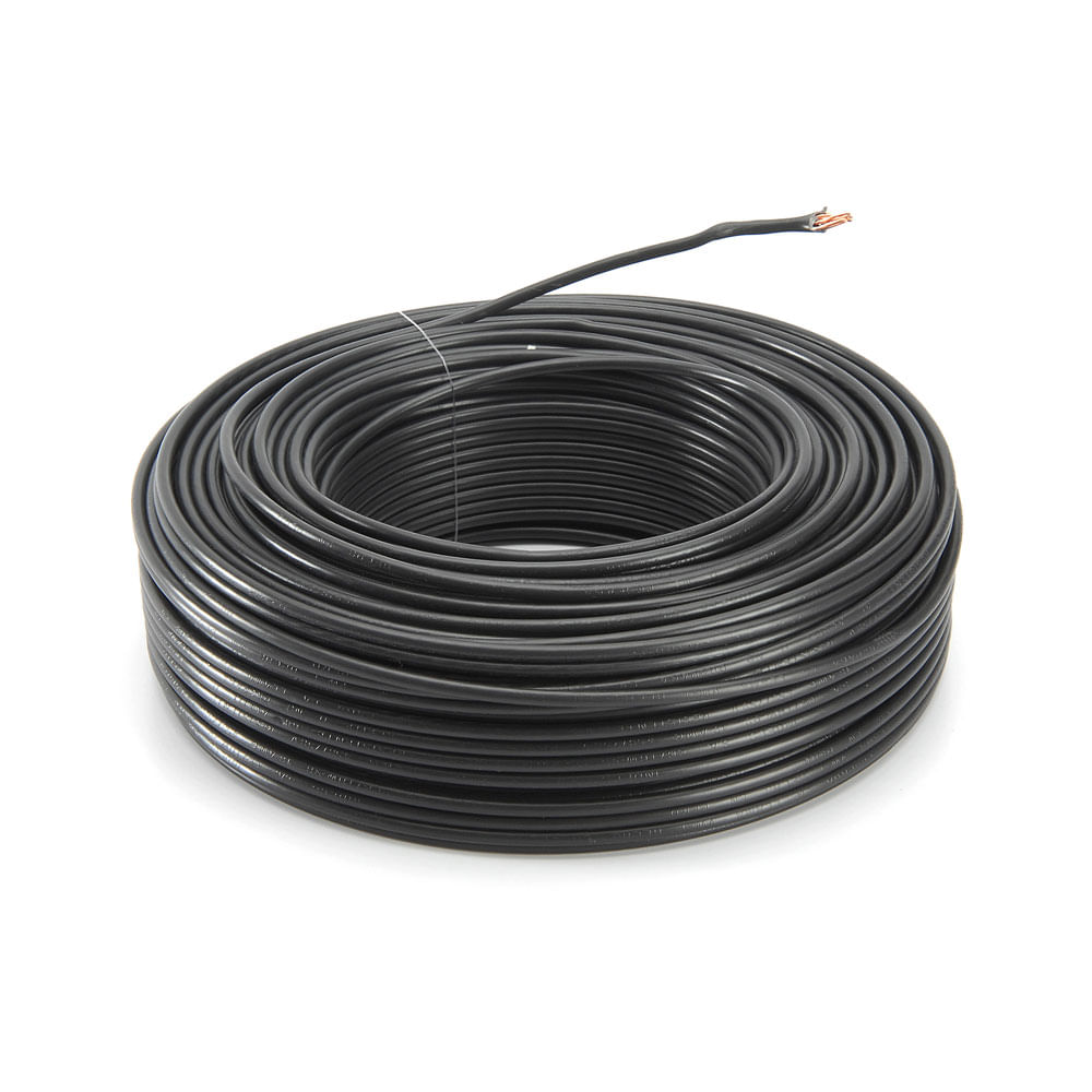 Cable Awg 14 Indeco Cable Thw 12awg Negro X Rollo Promart
