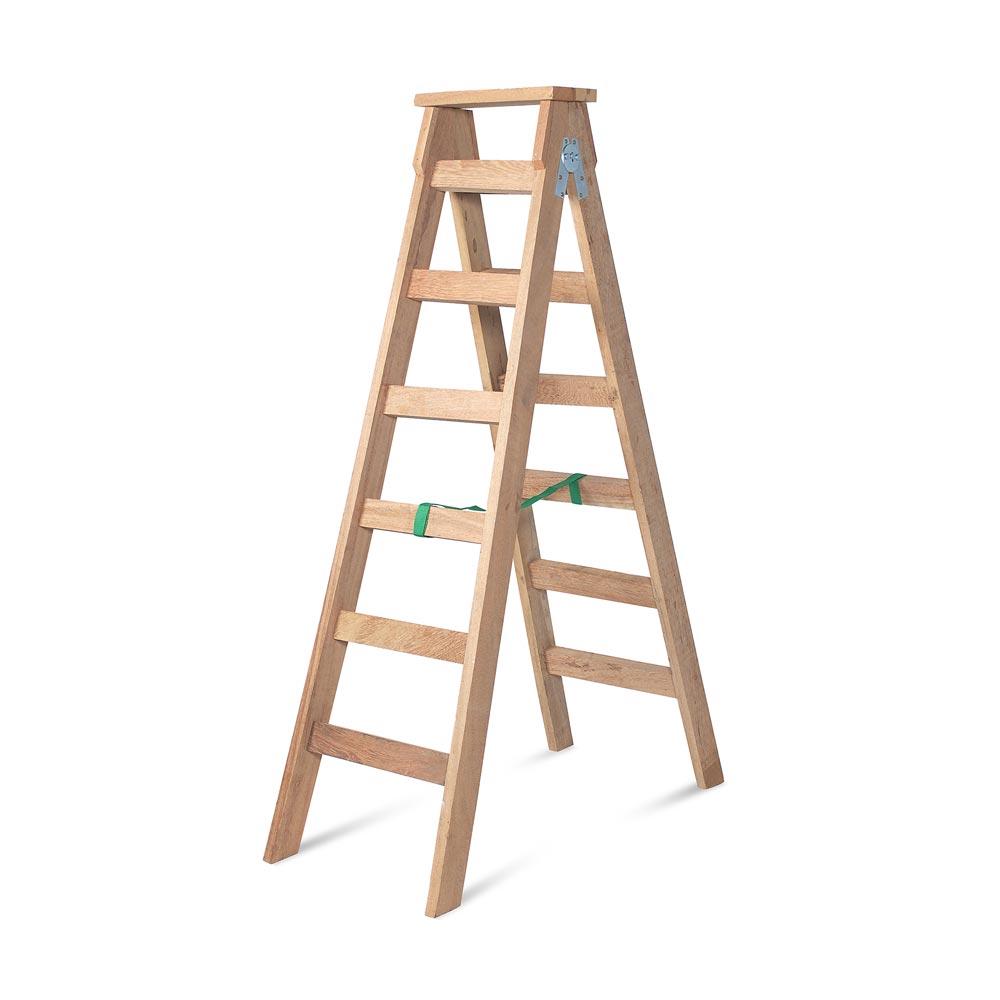 Escalera steps tijera de madera 6 pasos promart - Escalera madera ...