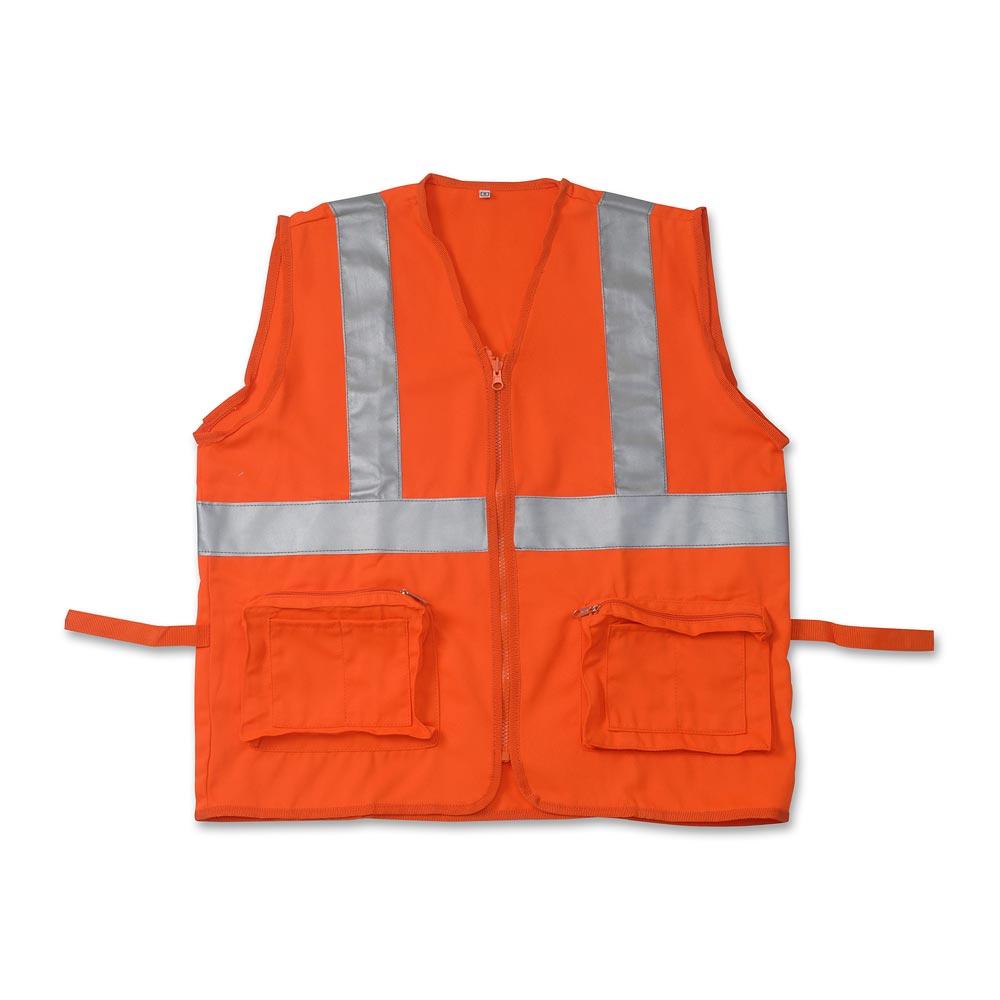 Chaleco para obra Naranja Talla  Small - Promart a2138db60e59