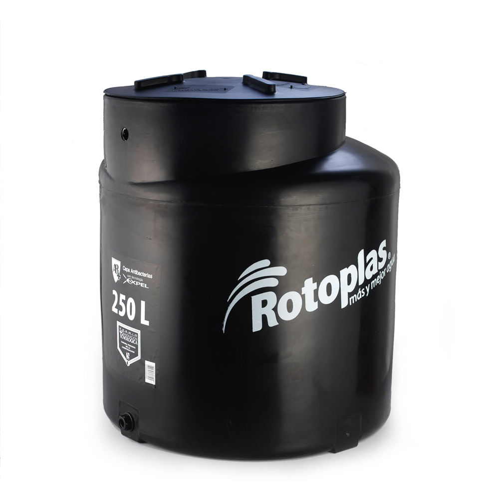 Tanque de agua con v lvula y flotador 250 litros promart for Tanque de agua rotoplas