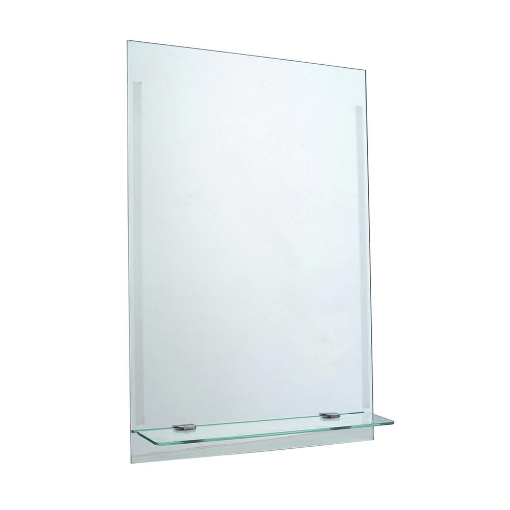Espejo para ba o con repisa genova 40 x 60 cm promart for Espejo 60 x 120
