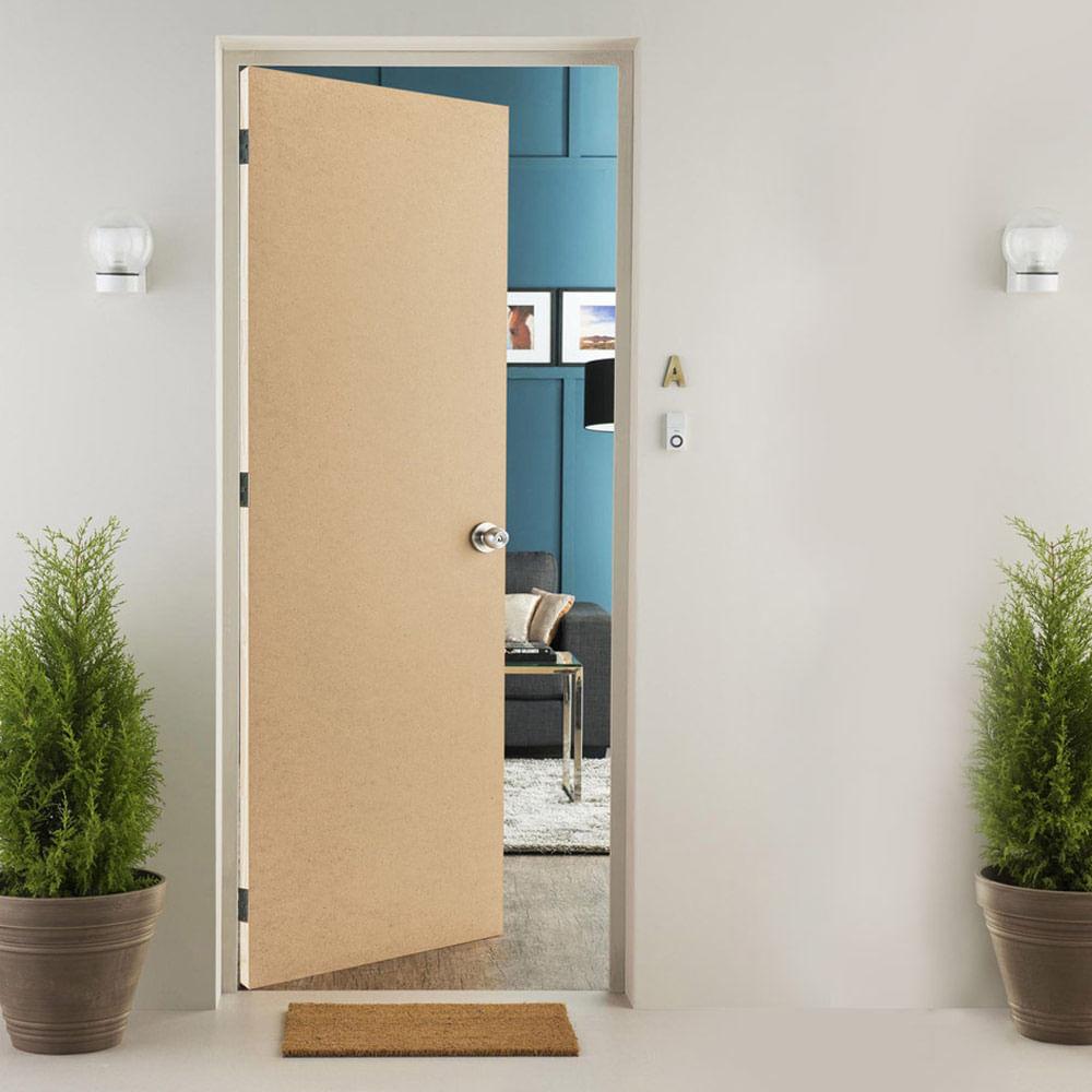 Puerta Contraplacada HDF Liso natural 65x207 cm - Promart