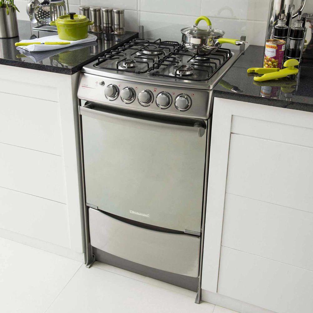 Indurama cocina a gas cadiz 4 hornillas promart for Cocinas de gas ciudad