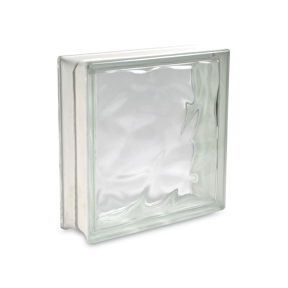 Bloque de vidrio Olas 30 x 30 cm - Promart
