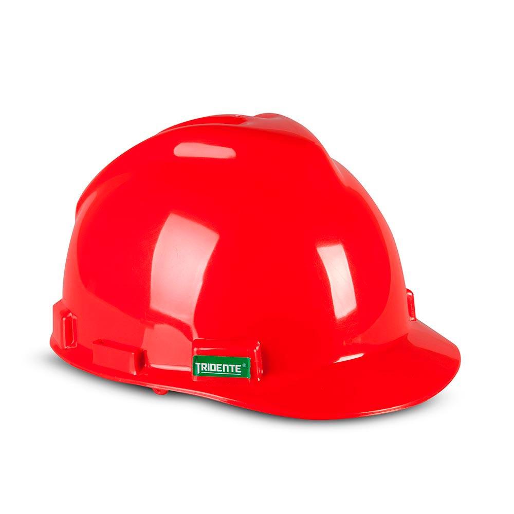 Casco de seguridad Rojo - Promart e9a8db2043f