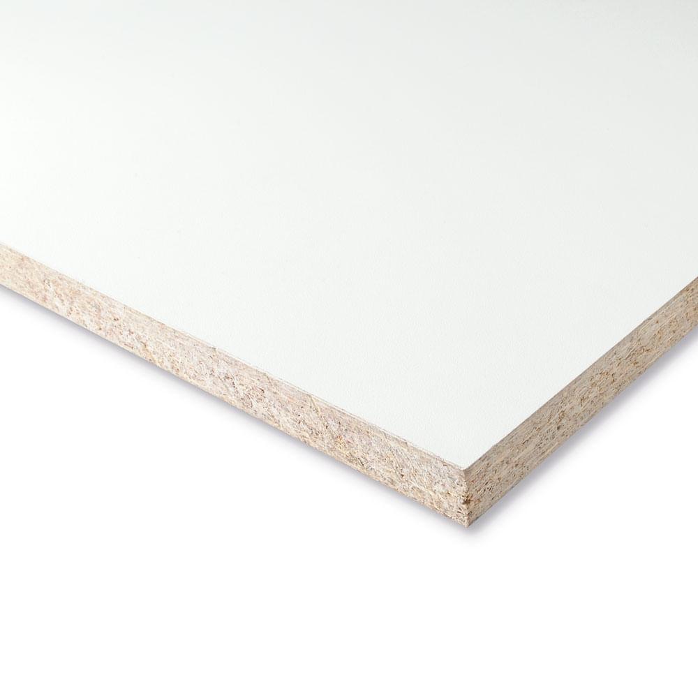 Tablero de melamina blanco rh 18 mm metros promart - Tablero aglomerado precio ...
