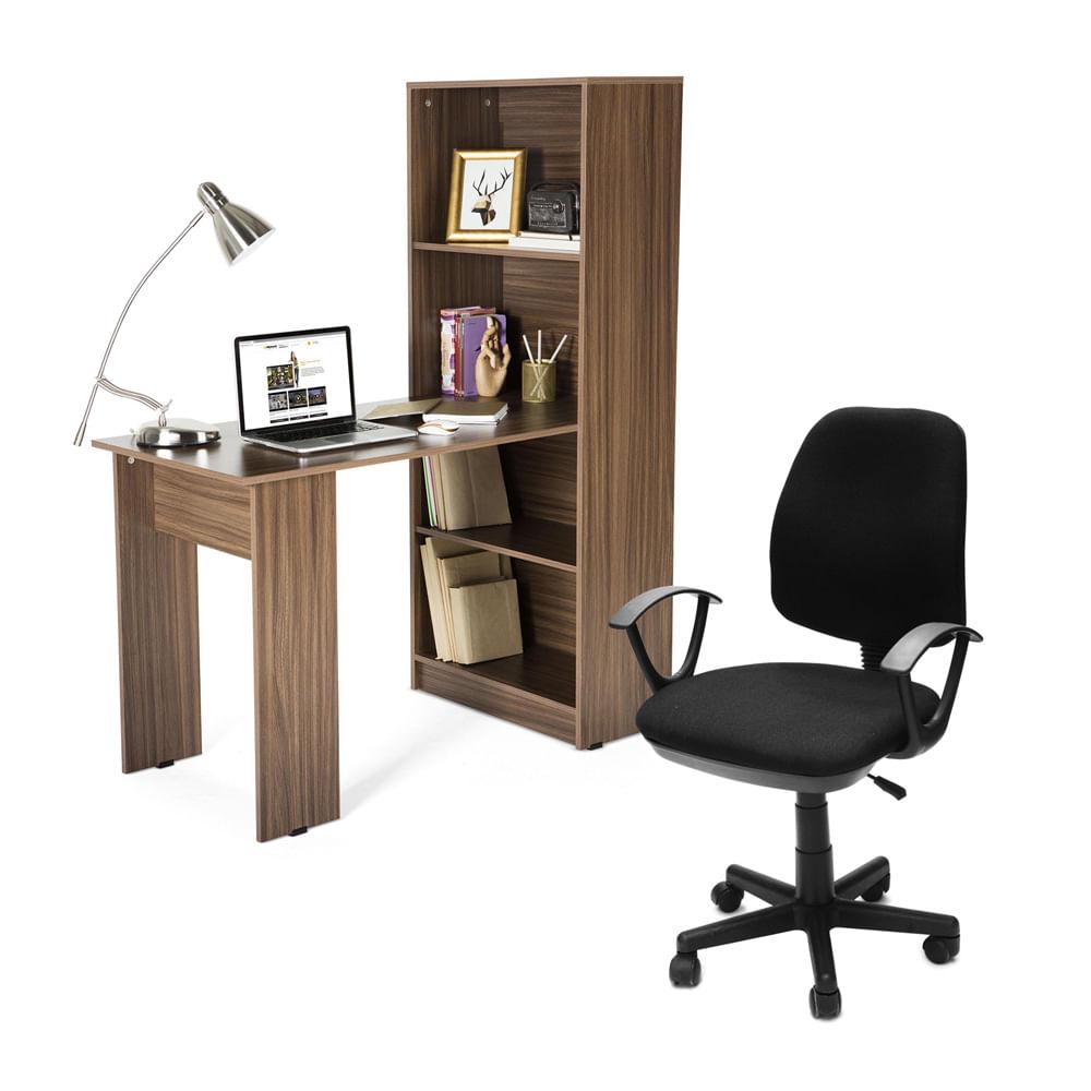 Escritorio con estante neptuno porto silla giratoria for Escritorios de oficina lima