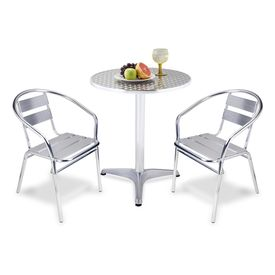 Mesas y sillas para terraza jard n o balc n for Mesas de terraza y jardin