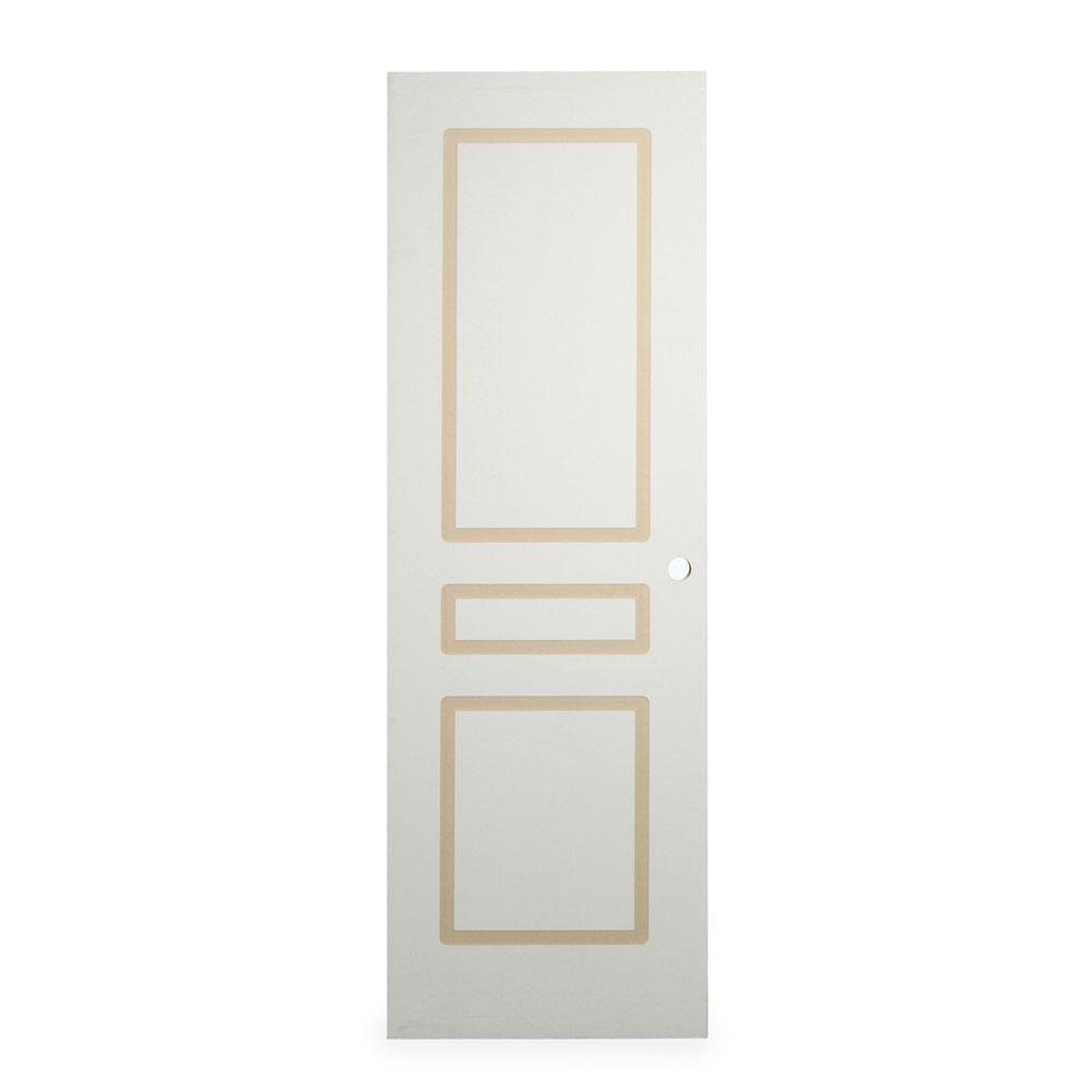 COMBO Puerta Dalet 70x207cm + Marco + Bisagra + Kit de instalación ...