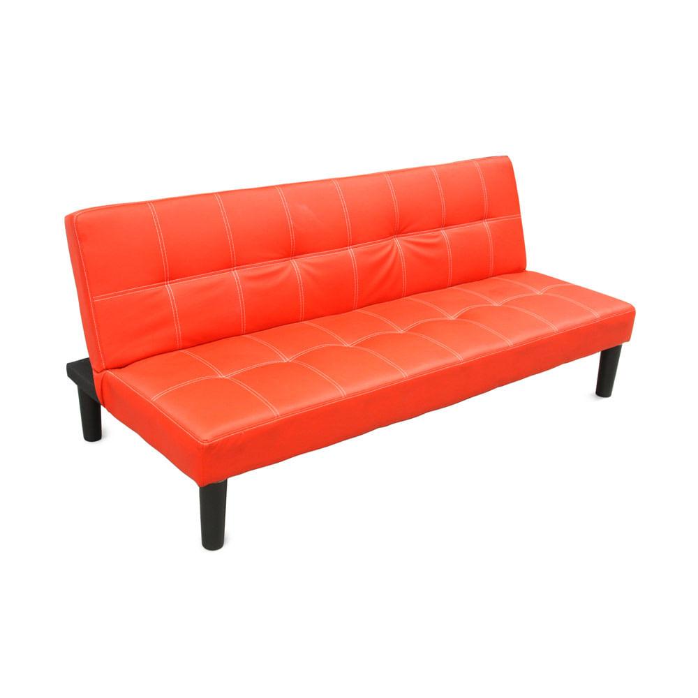 Sofá cama América Rojo - Promart