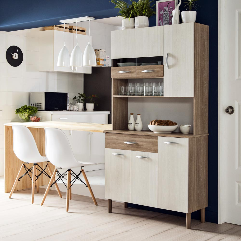 Mueble de cocina vogue 15 mm promart for Muebles de cocina para microondas