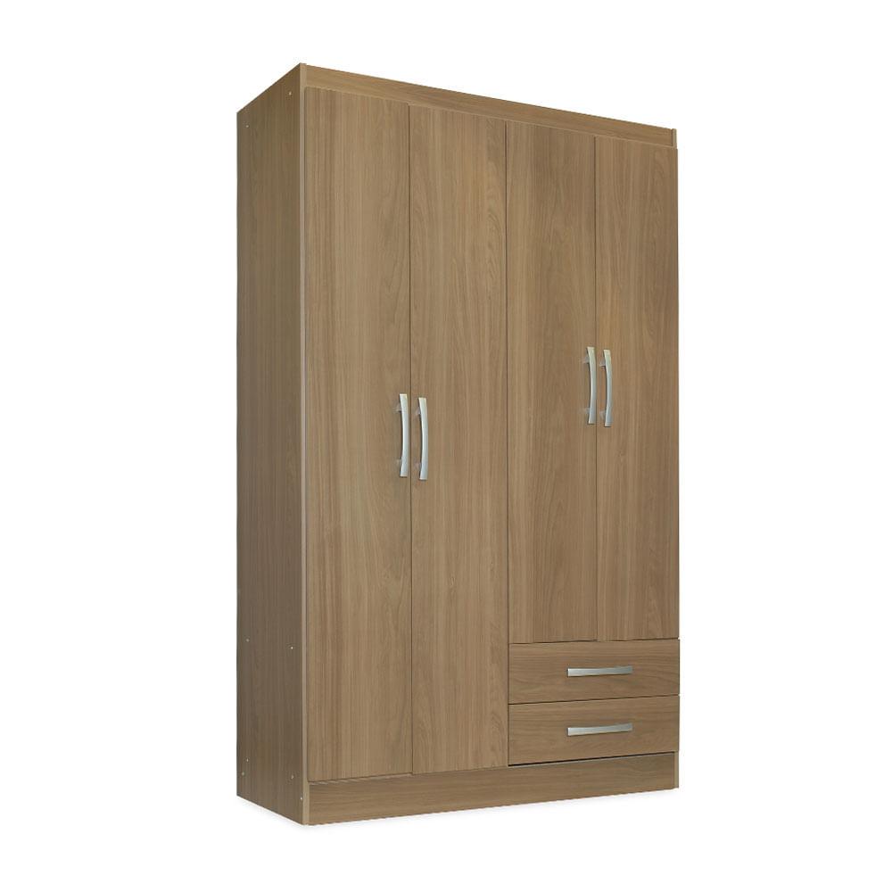 Ropero miami 4 puertas y 2 cajones promart for Cocinas integrales armables